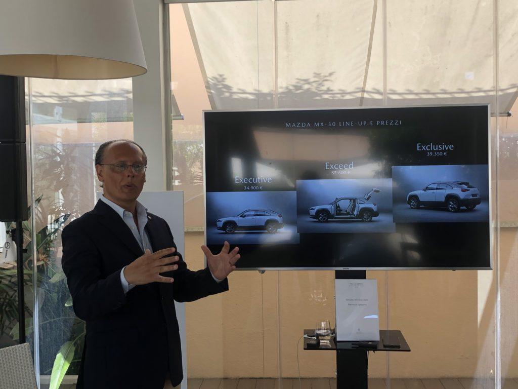 Roberto Pietrantonio AD Mazda