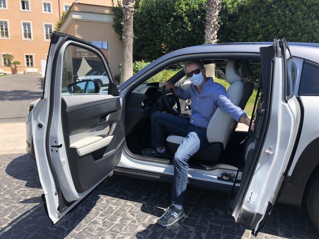 Prova Mazda MX-30 Fabio Orecchini