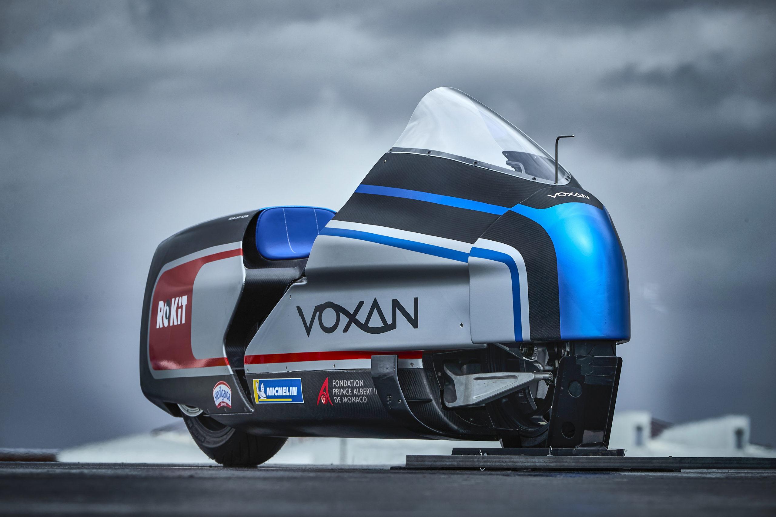 Voxan Wattman, la supermoto elettrica da record per Max Biaggi
