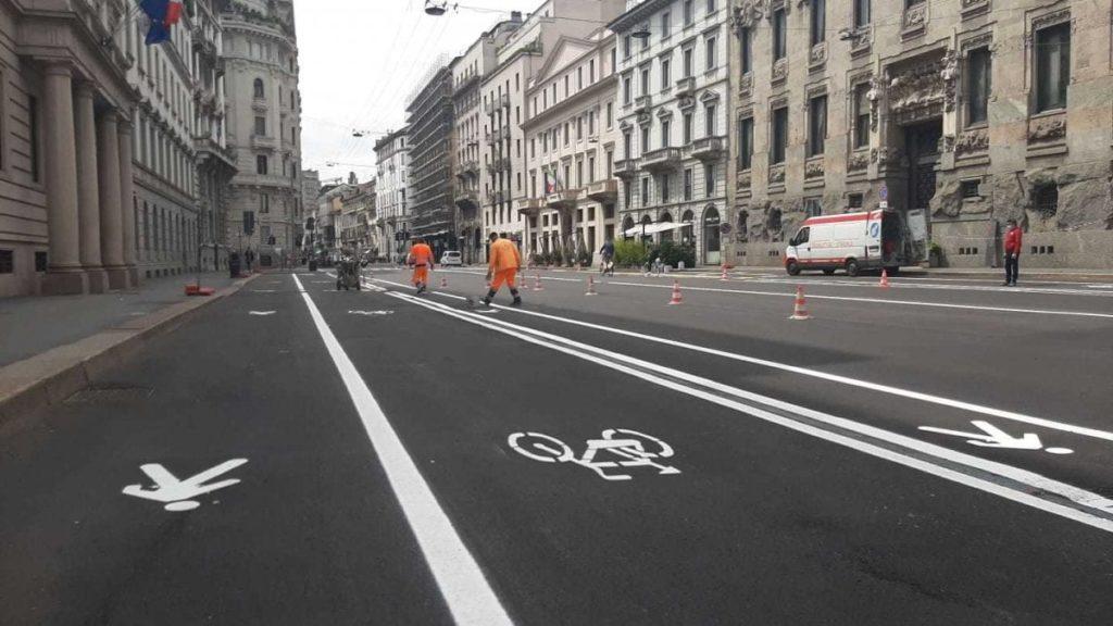 Ciclabile e pedonale Milano