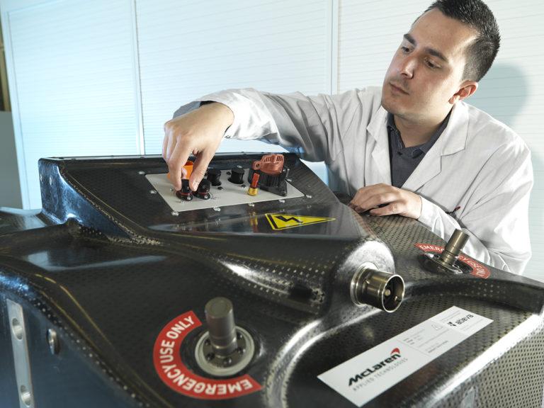 Batteria Formula E Gen2