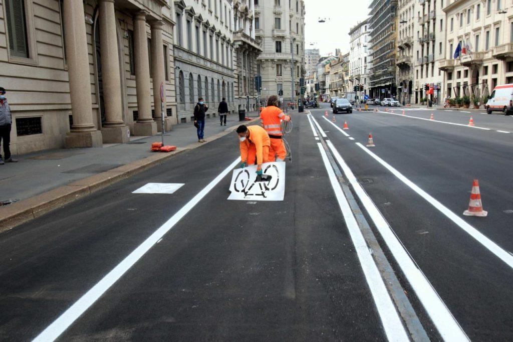 Mobilità pista ciclabile