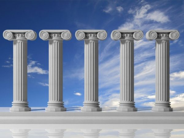 Cinque pilastri