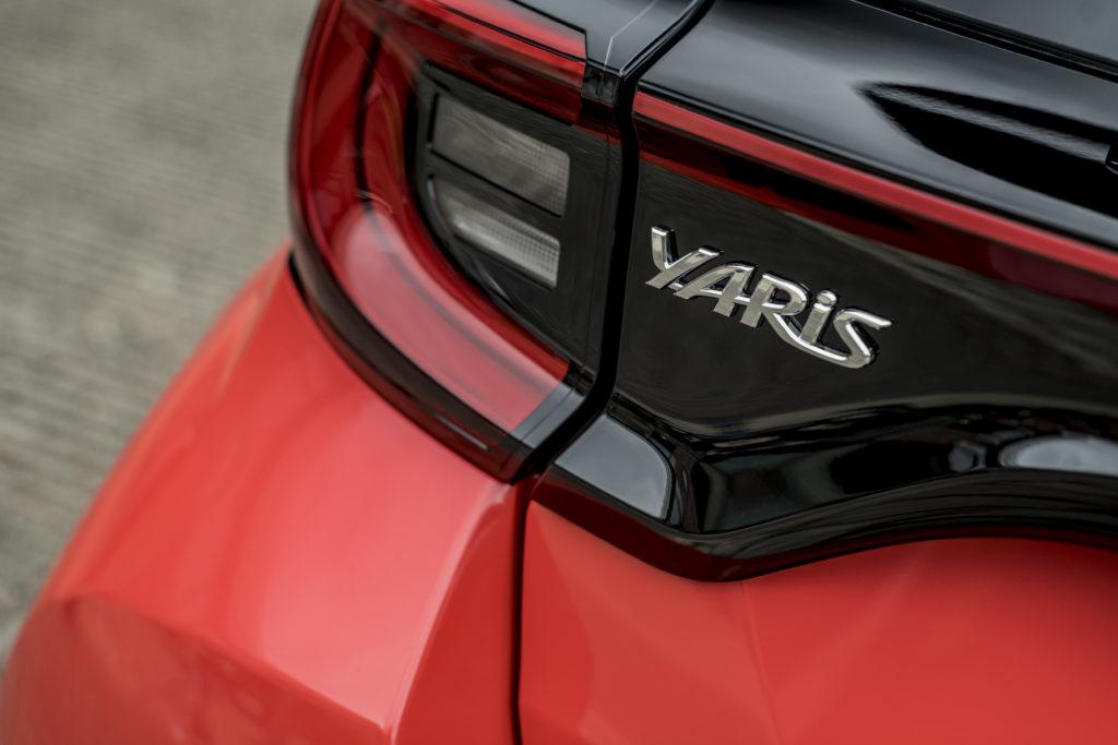 Toyota WeHybrid logo yaris