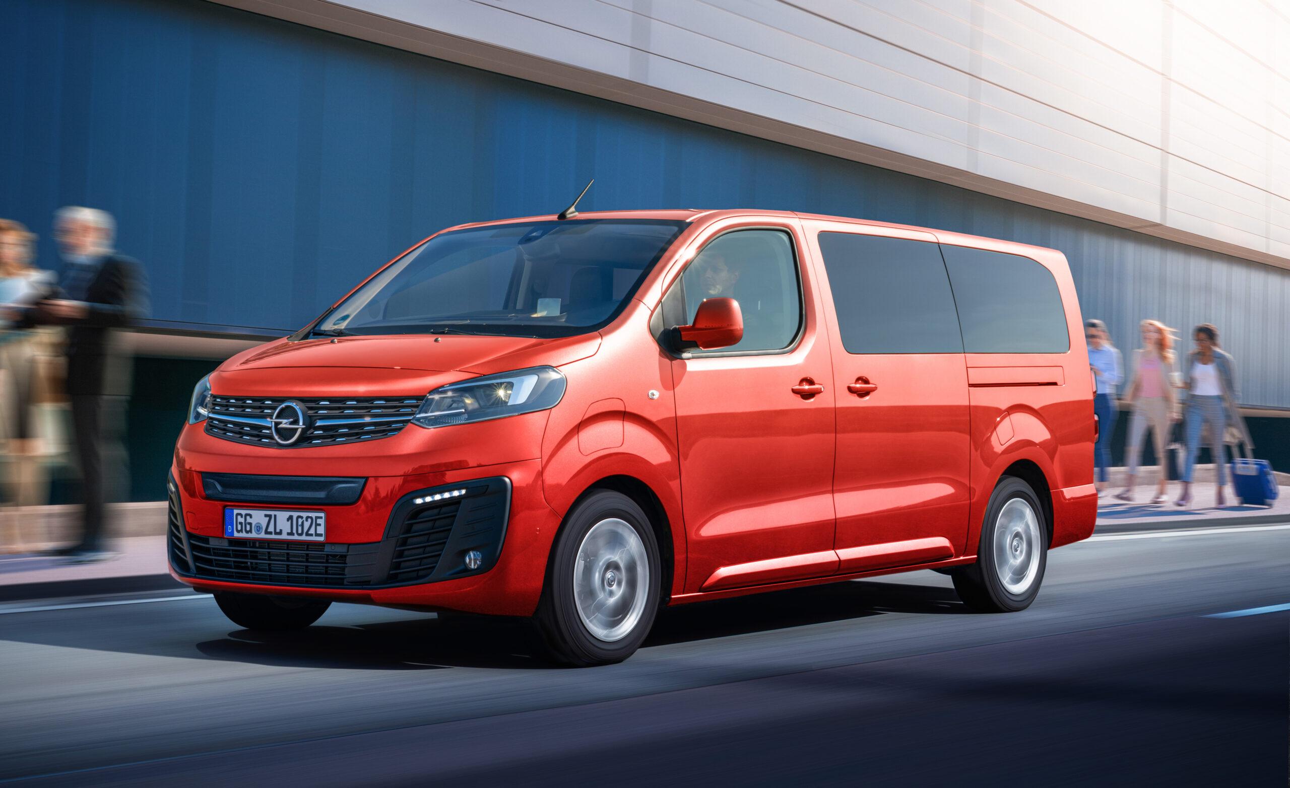 Opel Zafira-E Life, tre in uno ad emissioni zero