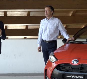 Cos'è Toyota WeHybrid, video con Mauro Caruccio AD Toyota Italia