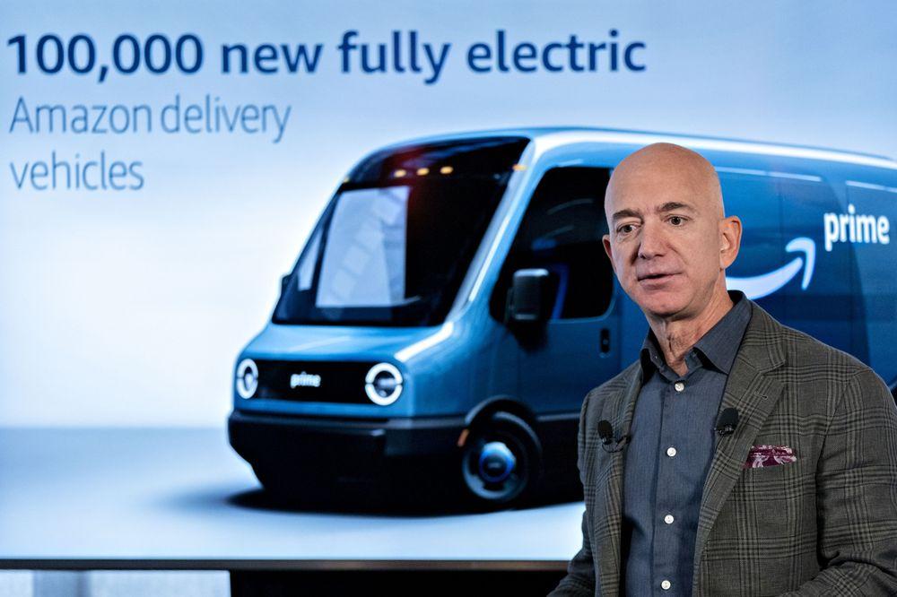 Besos Amazon furgone elettrico