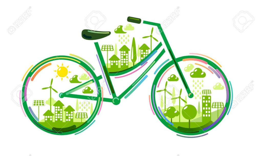 Totem bicicletta