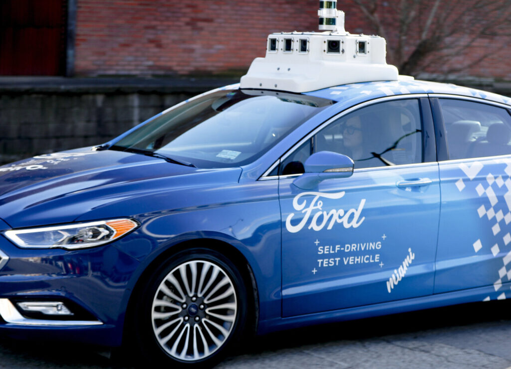 Ford prototipo guida autonoma