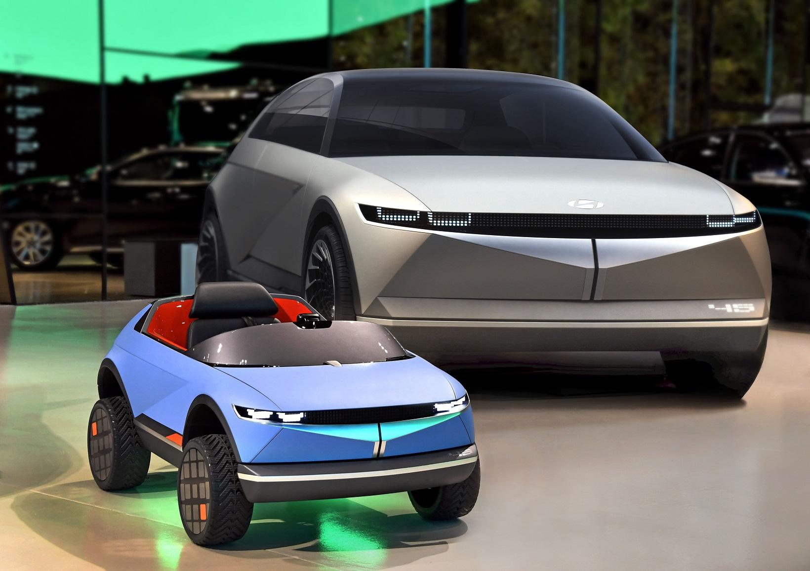 Hyundai, la mini auto elettrica con due motori è da urlo