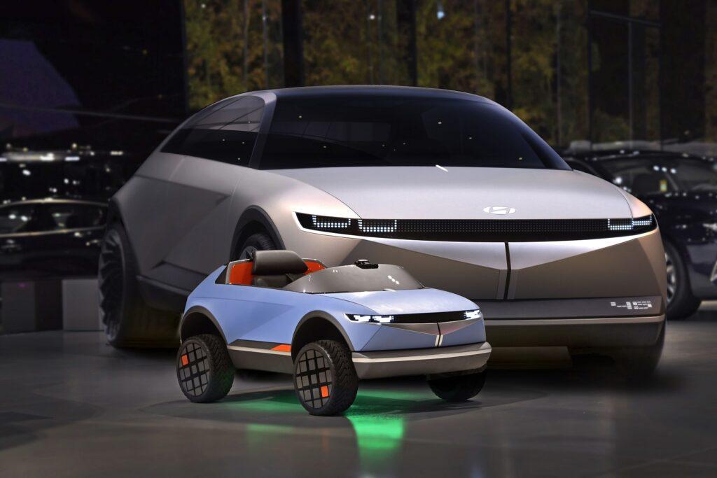 Hyundai 45 e mini auto elettrica