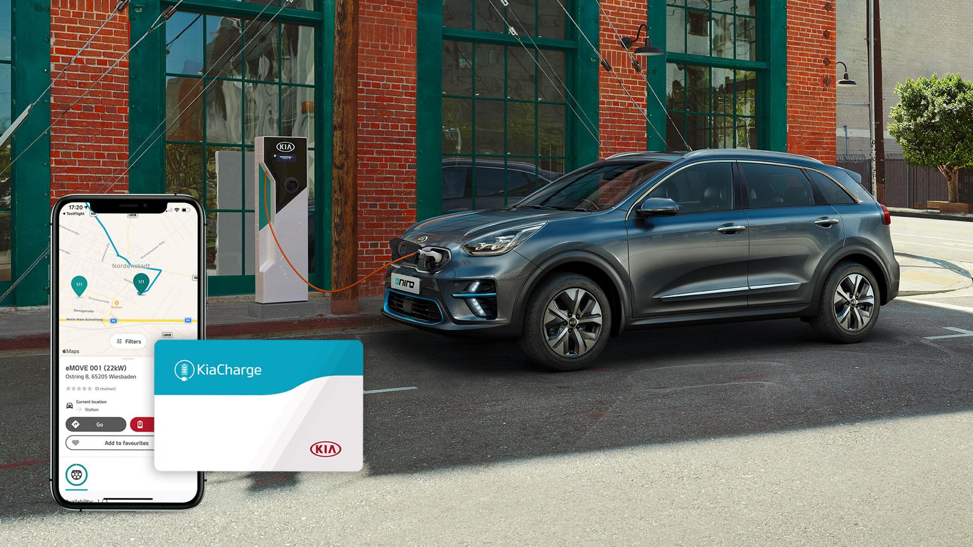 La Kia lancia KiaCharge, App per ricaricare l'auto in tutta Europa