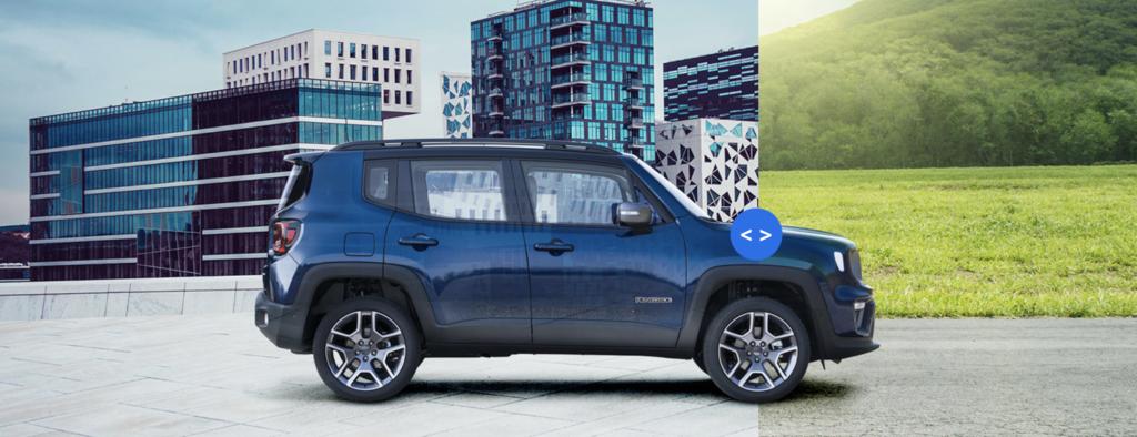Jeep Renegade ibrida olug-in rapporto benzina elettrico