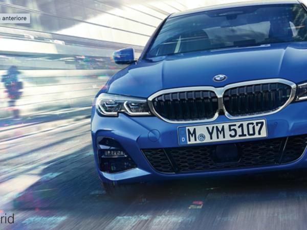 BMW serie 3 ibrida Plug-in
