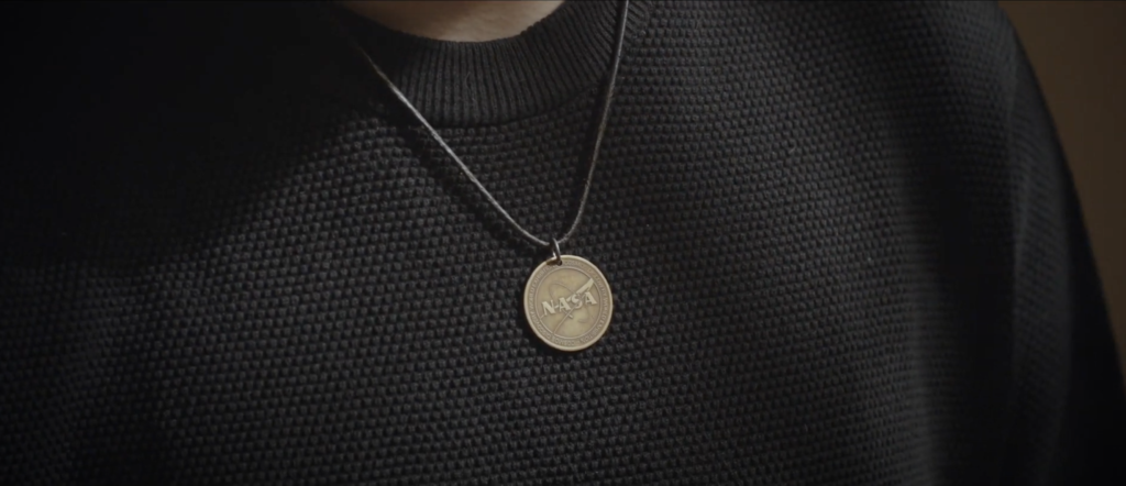 Mattia Barbarossa medaglia Nasa