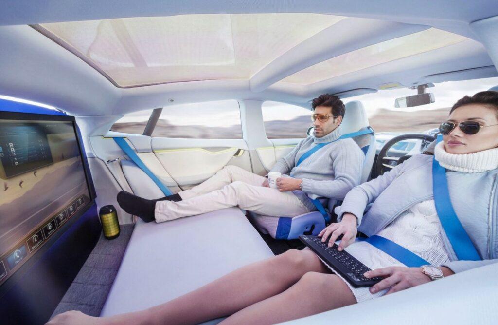 pendolari guida autonoma