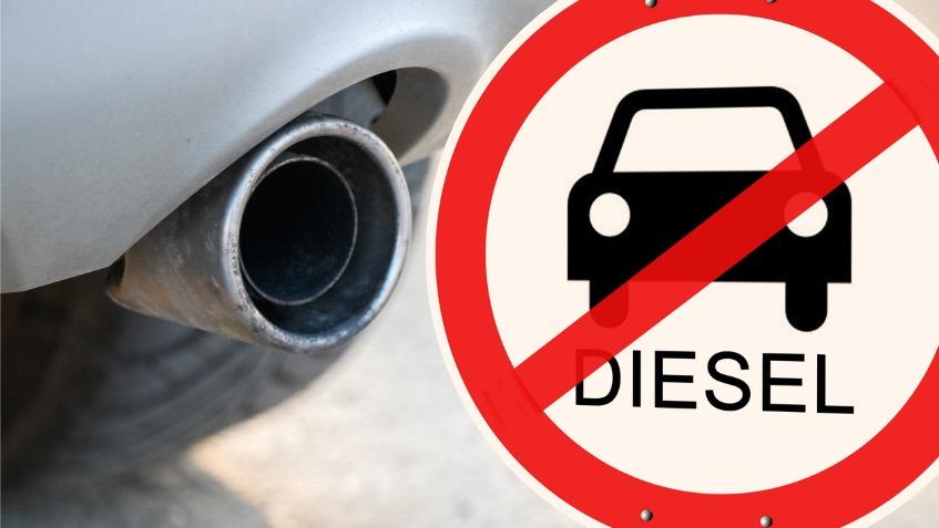 inquinamento divieto auto diesel