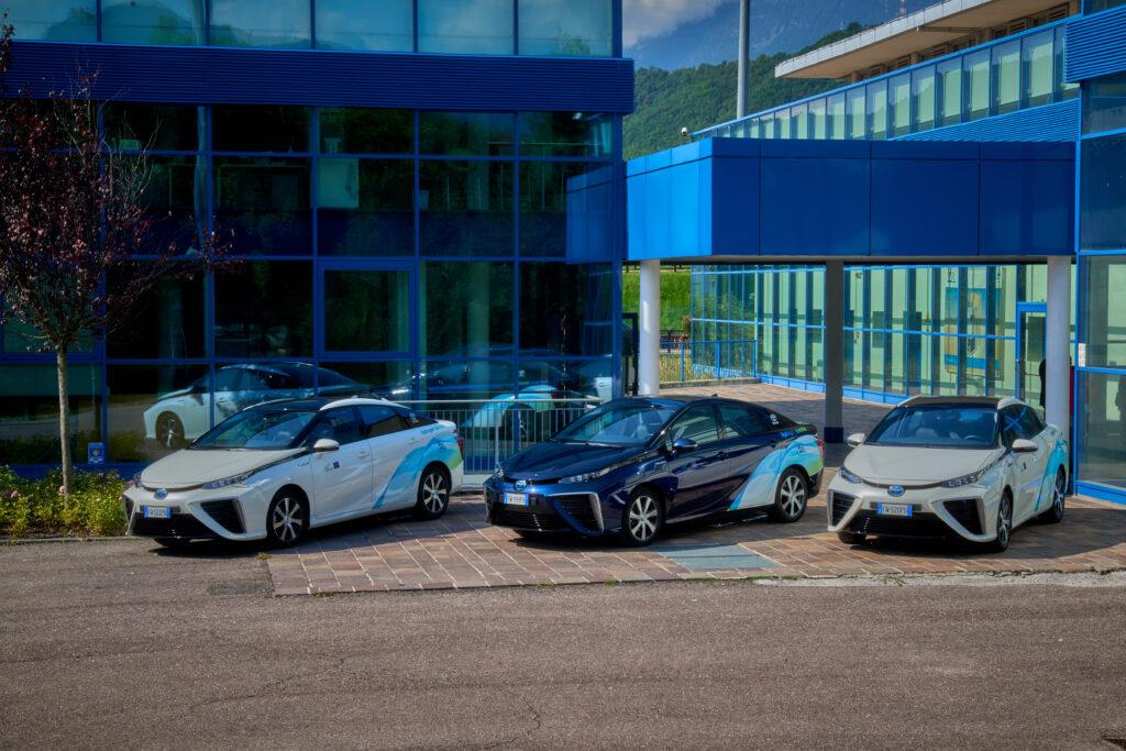 Tre Toyota Mirai Bolzano
