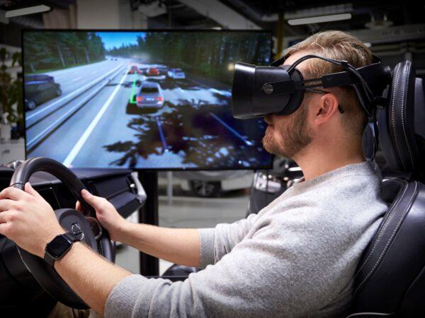 Simulatore guida Volvo