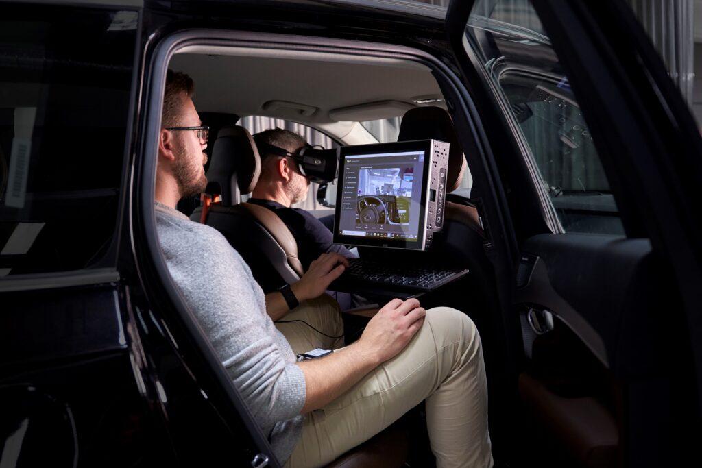 Postazione simulatore Volvo