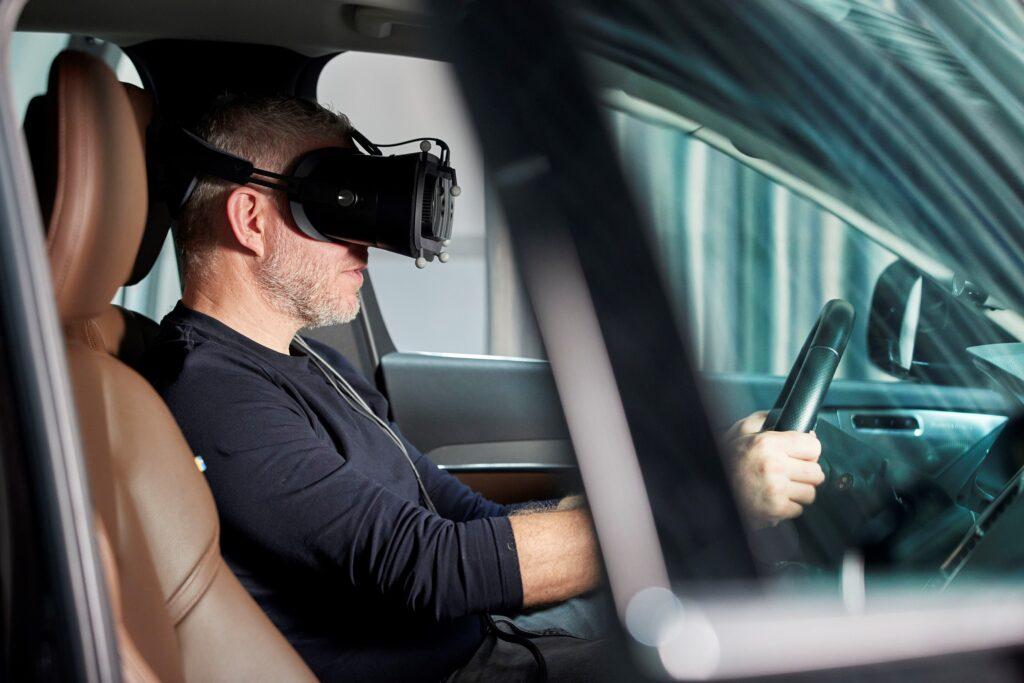 Simulatore di guida Volvo