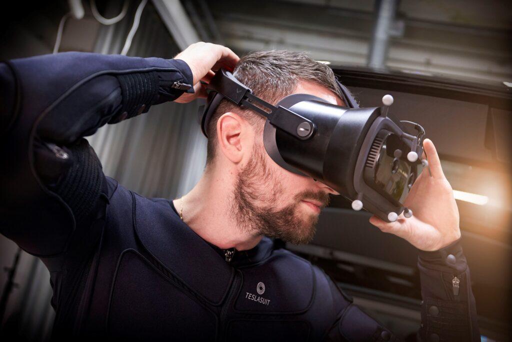 Indossare simulatore di guida Volvo