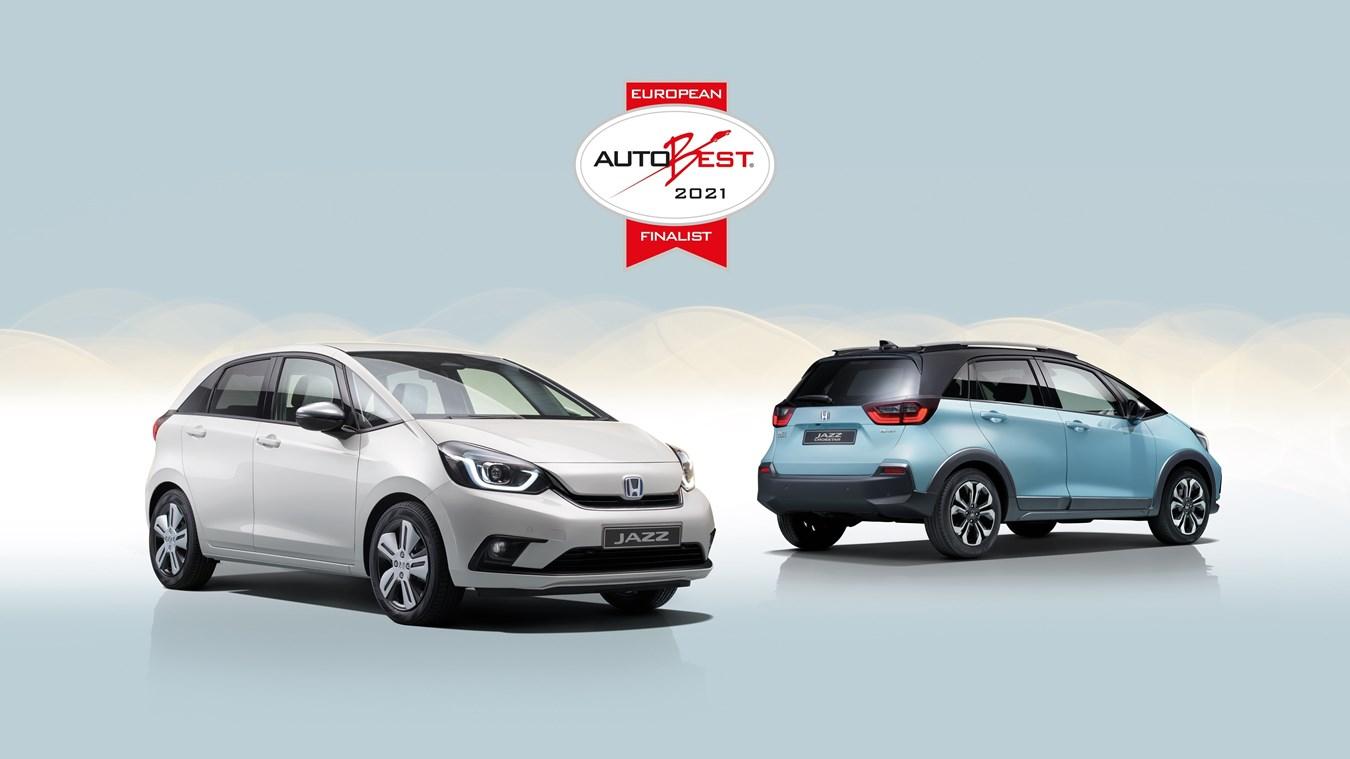 Honda Jazz ibrida tra le finalista di Autobest premio all'auto col miglior rapporto qualità-prezzo