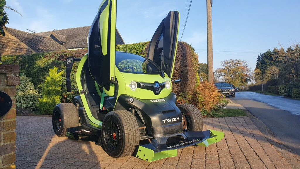 Renault Twizy F1 Oakley Design verde