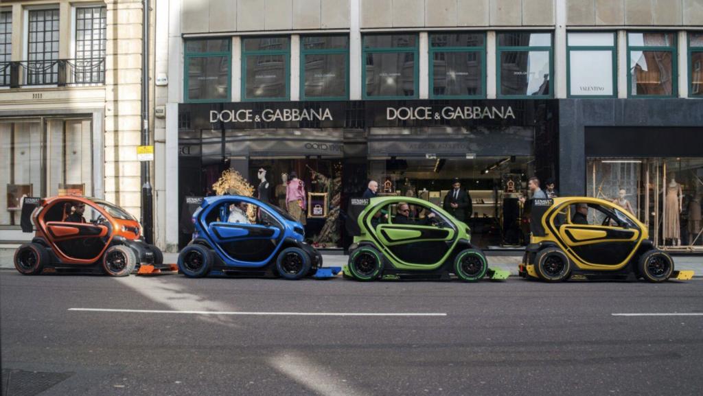 Renault Twizy F Oakley Design Dolce Gabbana Londra