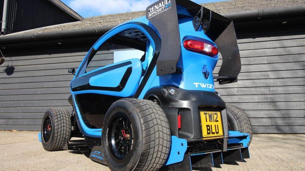 Ranault Twizy F1 Oakley Design Blu