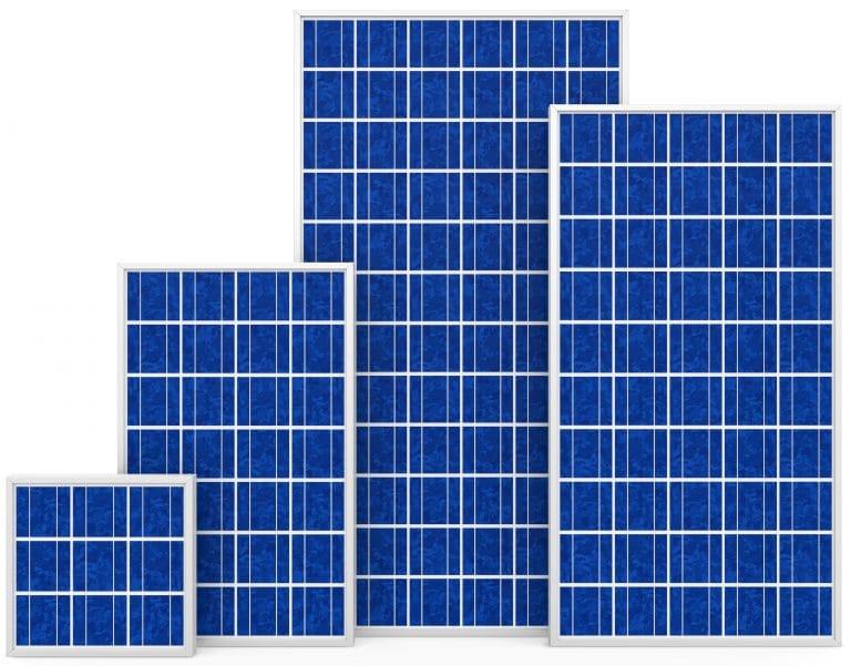 Pannelli fotovoltaici silicio policristallino