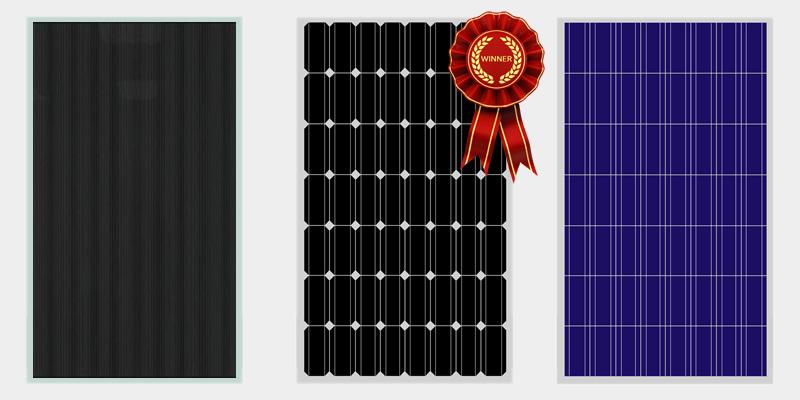 Pannelli Fotovoltaici migliori tra silicio monocristallino, policristallino e film sottile