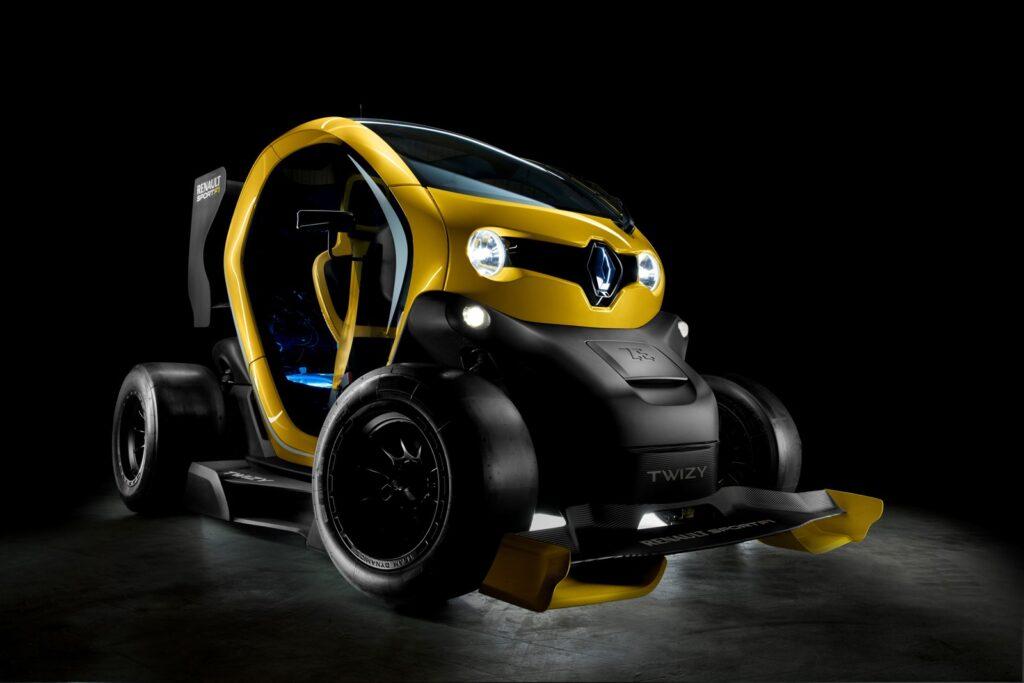 Twizy Renault Sport F1 concept tre quarti