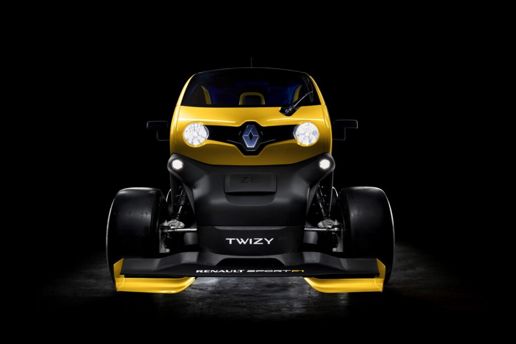 Twizy Renault Sport F1 concept frontale