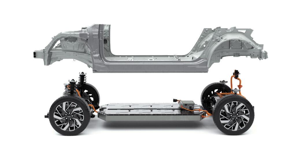 Hyundai E-GMP profilo