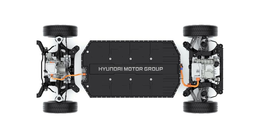 Piattaforma Hyundai E-GMP verticale