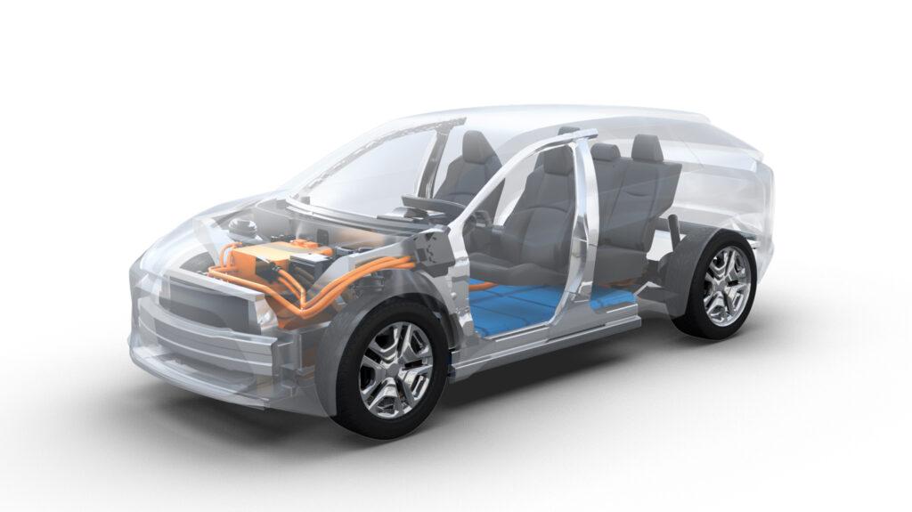 Toyota Suv elettrico piattaforma e-TNGA