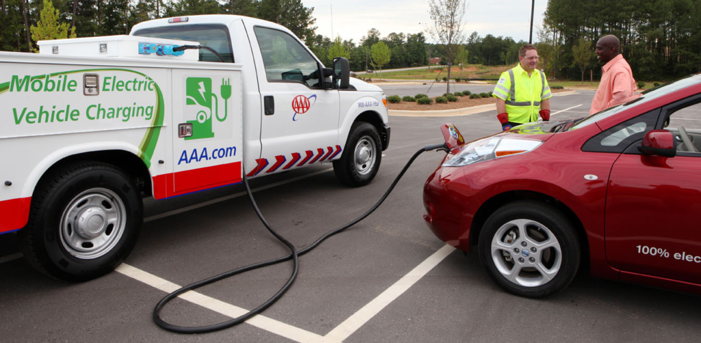 Veicolo di ricarica mobile auto elettriche