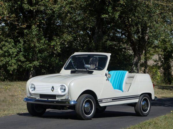 Renault 4 elettrica e-Plein Air concept