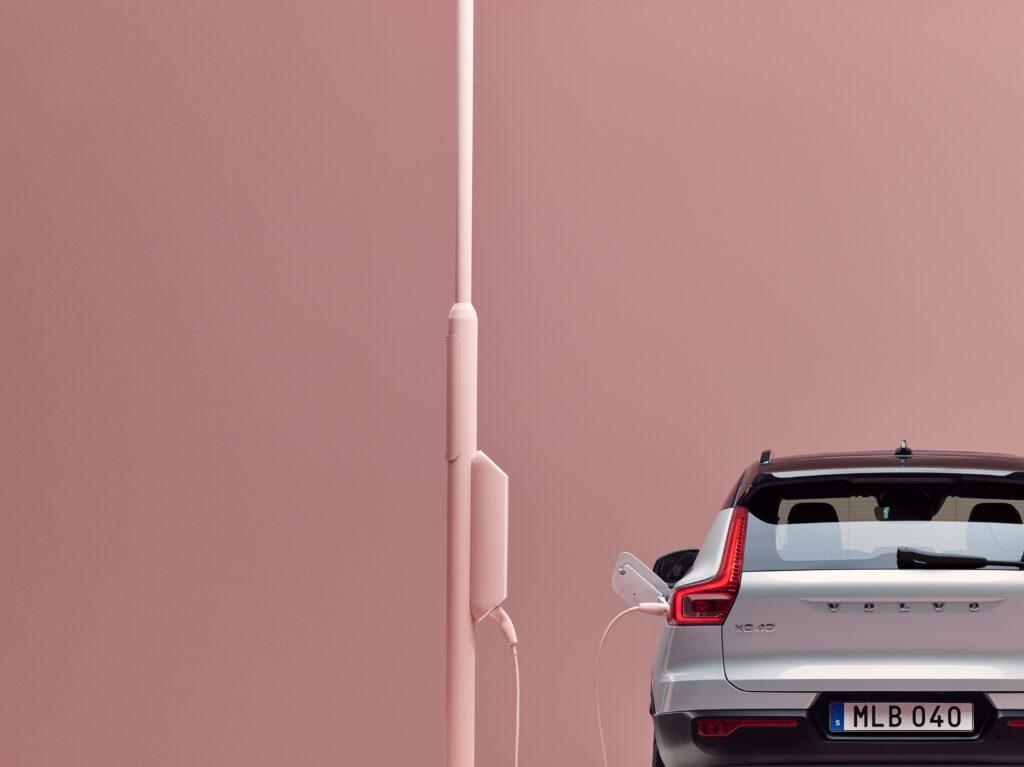 Volvo elettrificata ricarica