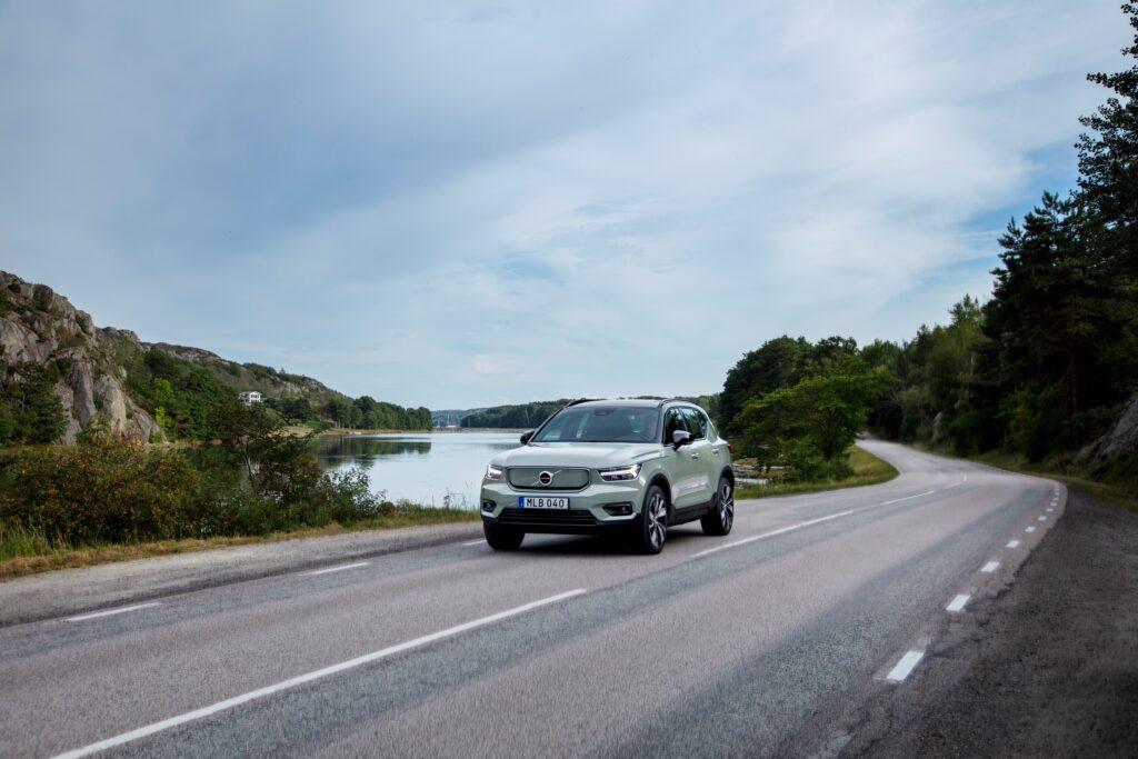 Volvo XC40 Recharge dinamica