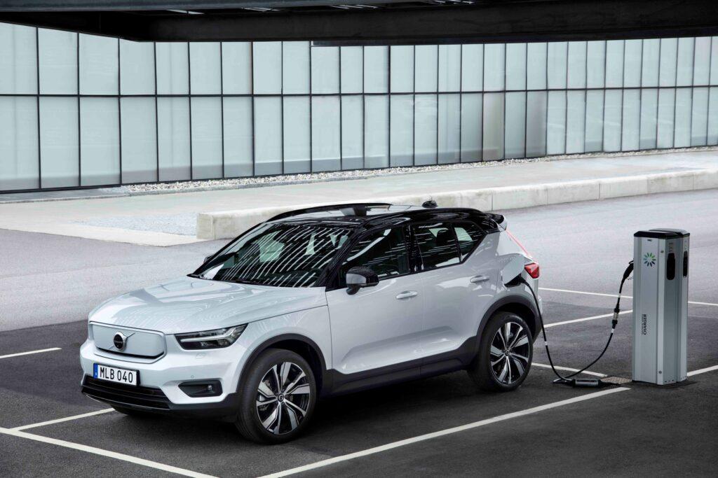 Volvo XC40 recharge ricarica