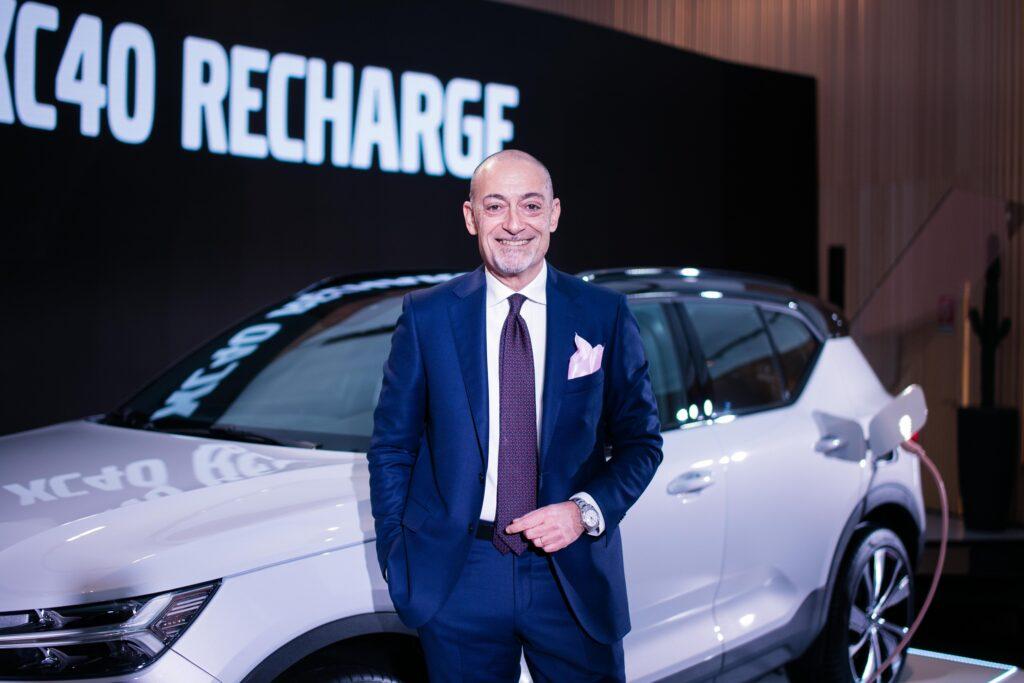 Michele Crisci presidente Volvo Italia