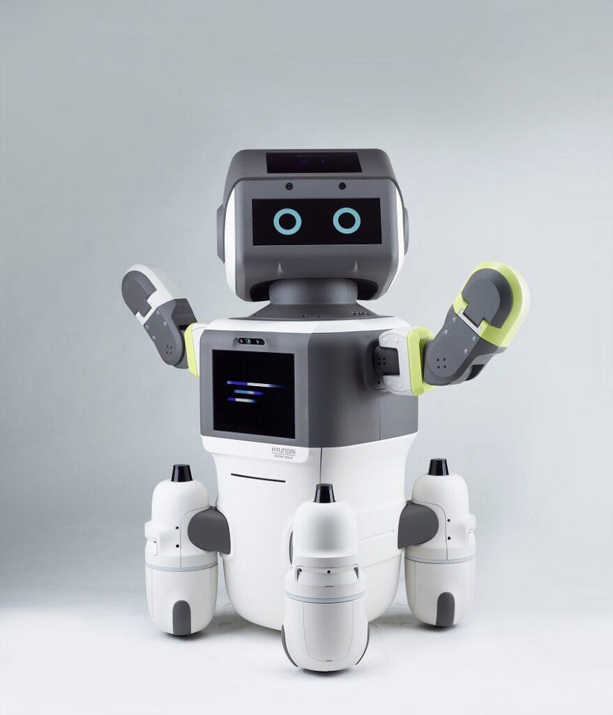 Robot Hyundai DAL-e verticale fuori contesto