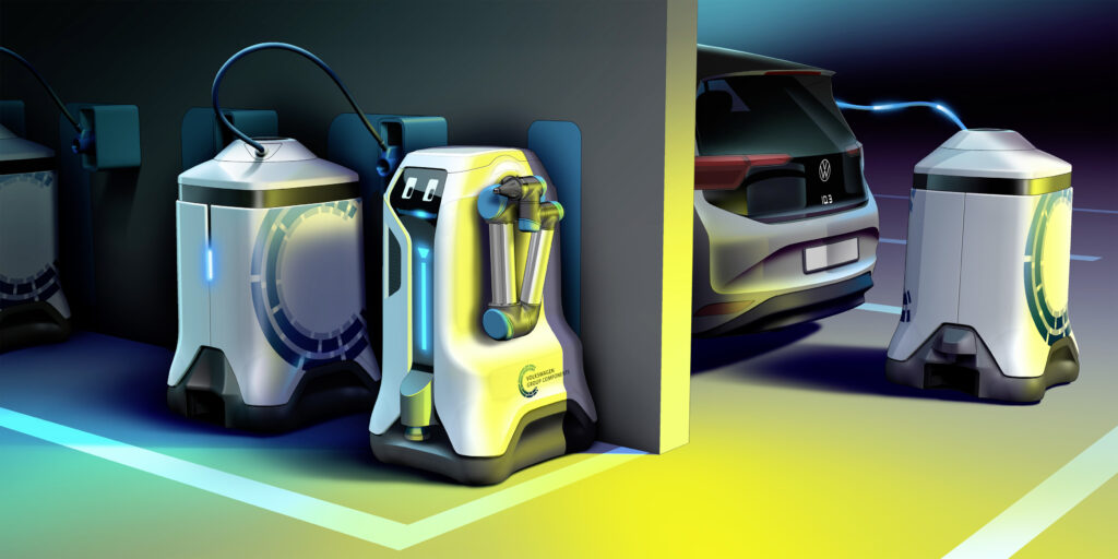 Robot ricarica e batterie mobili