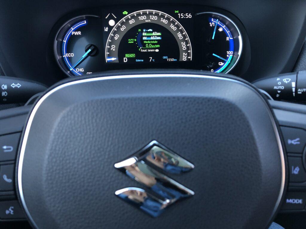 Posto guida Suzuki Across