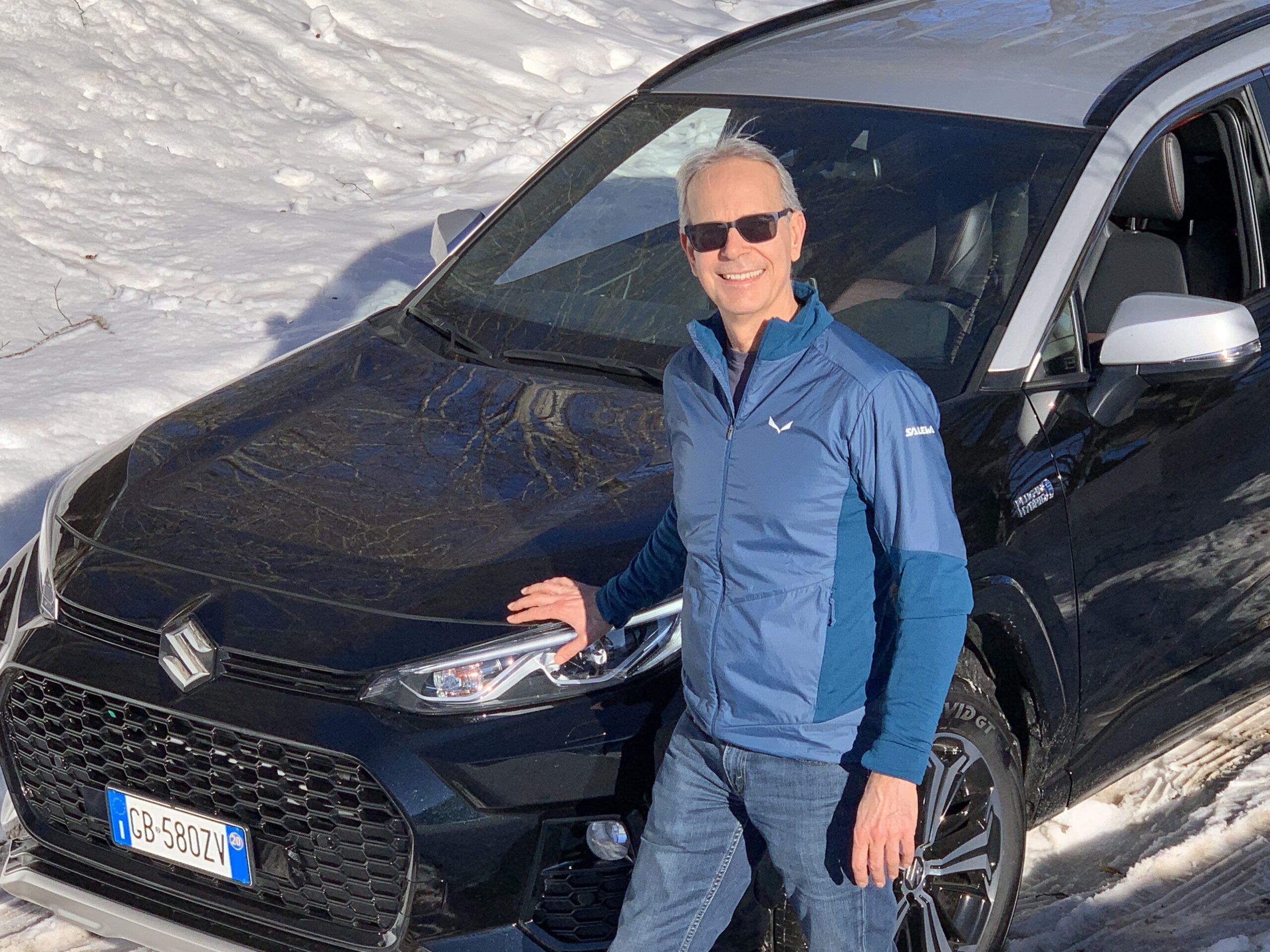 Suzuki Across Plug-in Hybrid, la mia prova estrema sulla neve