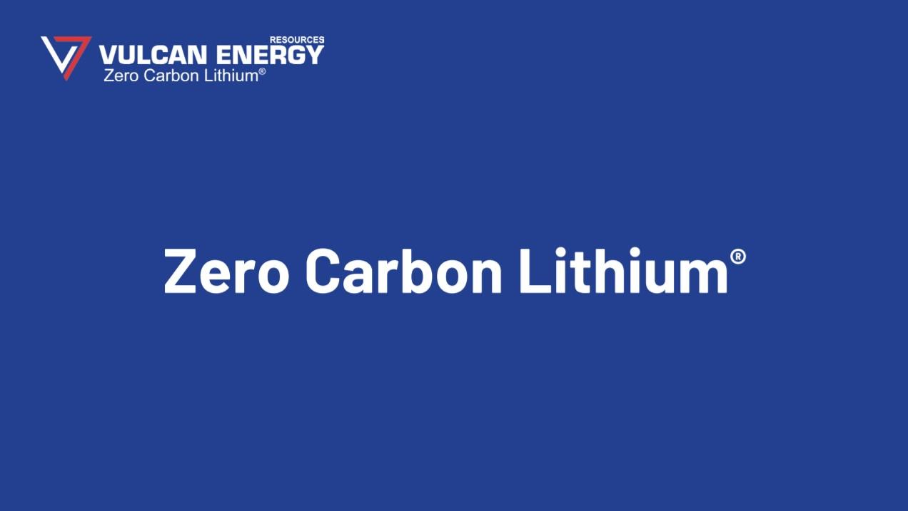 Zero Carbon Lithium, litio a impatto zero nel cuore dell'Europa