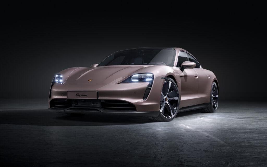 Porsche Taycan trazione posteriore