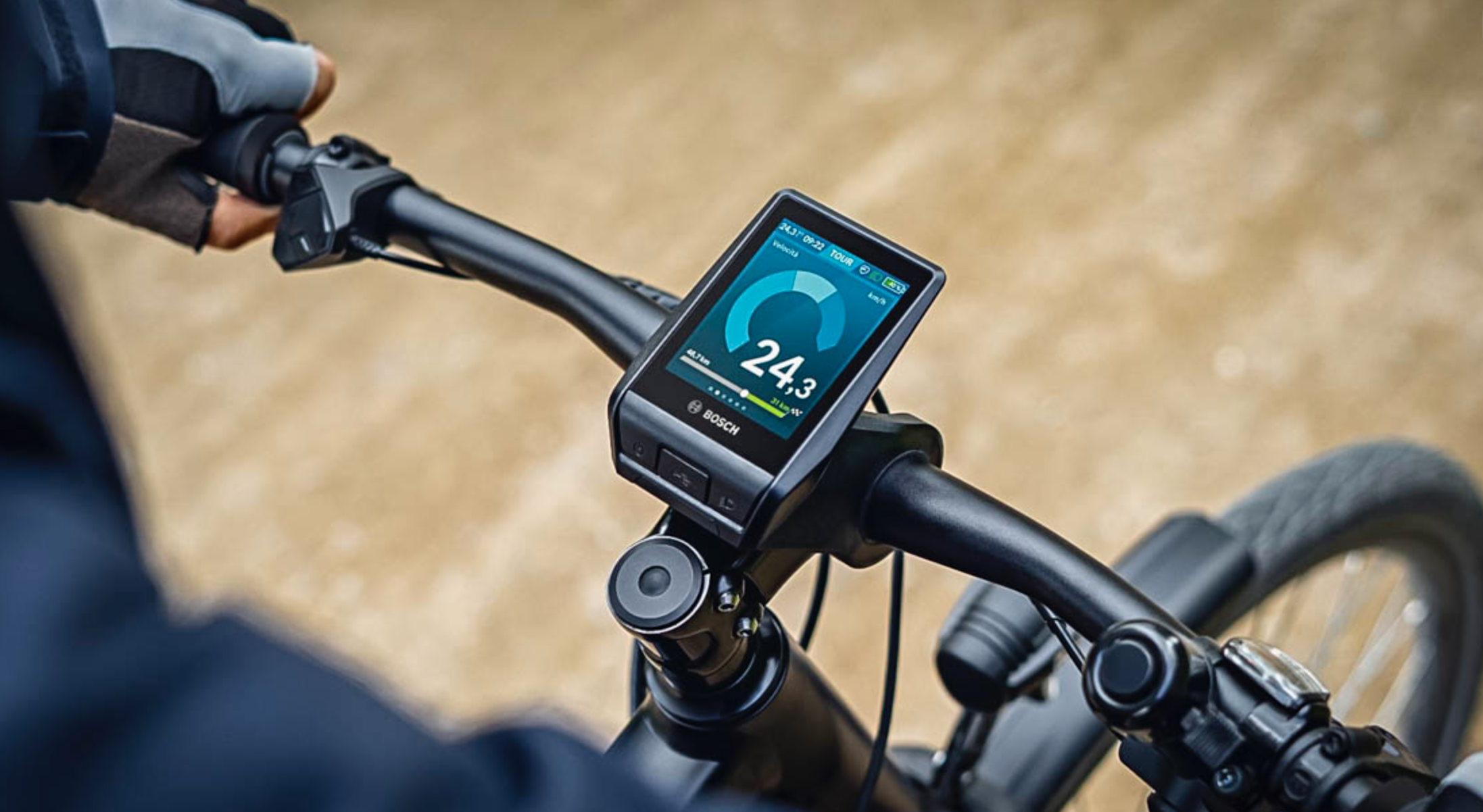 Bosch E-Bike Nyon, al computer da bici l'Innovation Award CES 2021